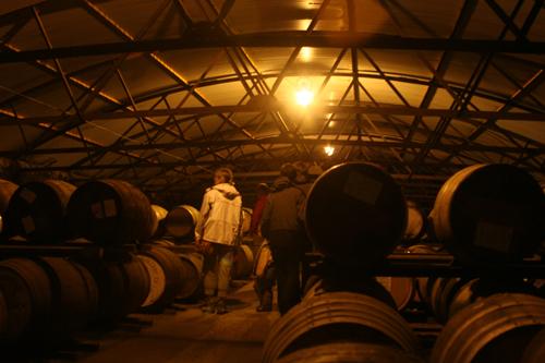 Storage at Briuchladdich